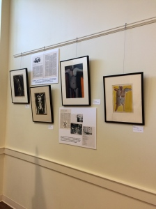 A selection of artworks by Margaret Rigg, motive art editor from 1955-1965.